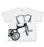 shikisai toddler t-shirt [ Tricycle ] detail